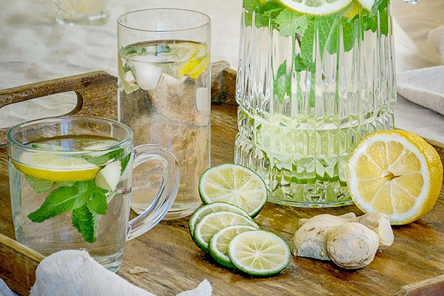 레몬물 효능 피로회복 피부미용 설명