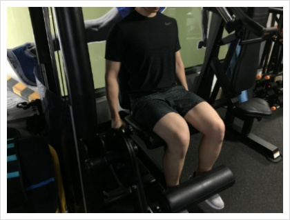 레그 익스텐션(Leg extension)