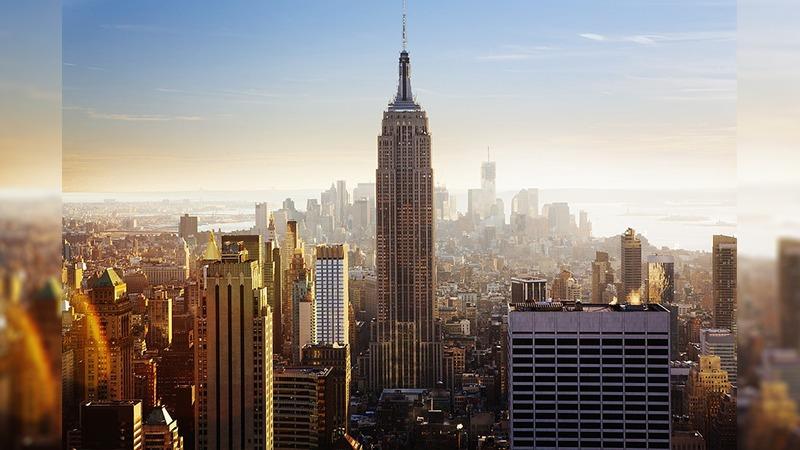 사진: 약 40년간 세계에서 가장 높은 빌딩으로 기록되었던 엠라이어 스테이트 빌딩. 영화 킹콩의 배경이다.