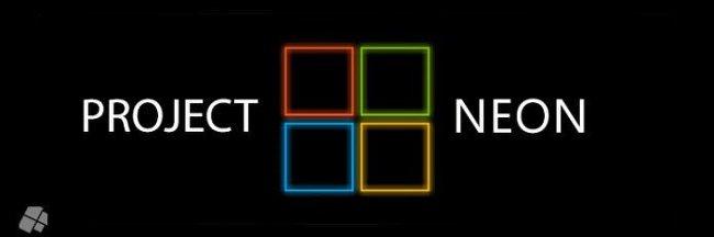 윈도우10 레드스톤4(RS4) 새로운 컨셉 네온(NEON) 프로젝트