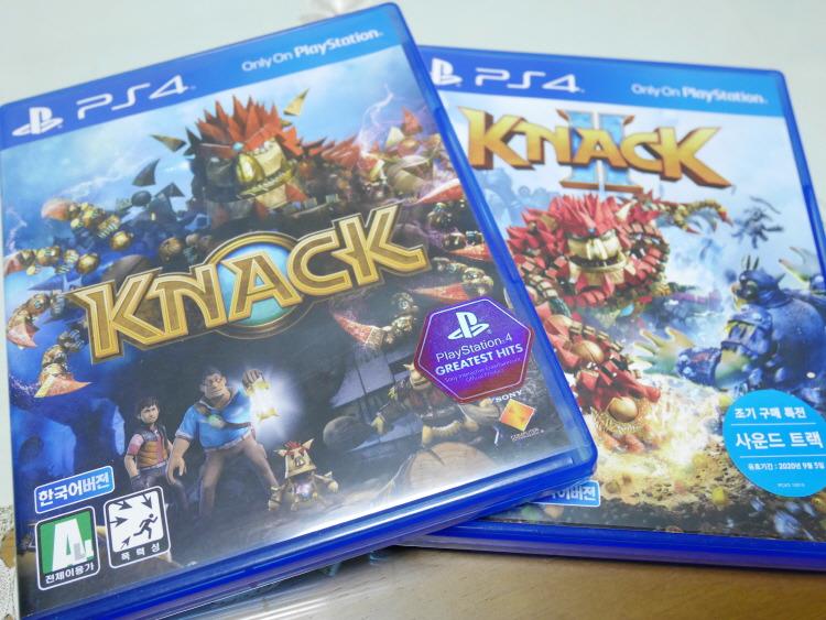 플스4 PS4 2인용게임 추천 낵(KNACK)