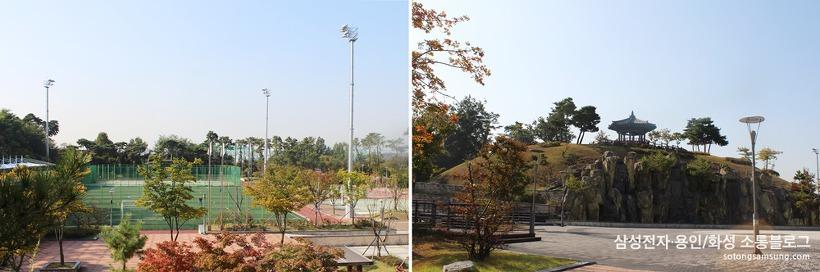 다람산공원 체육시설
