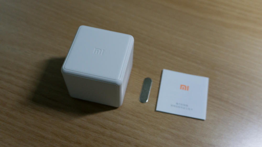 샤오미 큐브 컨트롤러 내용물 1