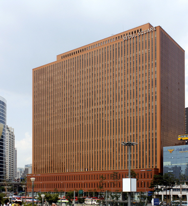 Seoul_Square(daewoo headquarters)_대우 본사
