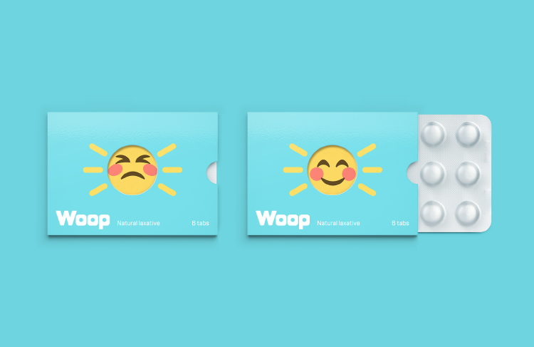 Woop medicine Packaging, concept design