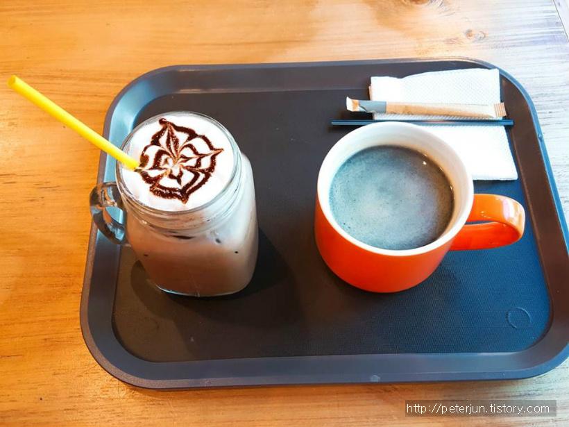 커피와 아이스초코