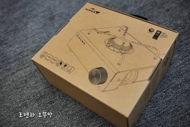 휴대용 가스 버너 '코베아 큐브 우드웨어' 조립기1