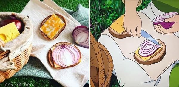 '게드전기 - 어스시의 전설' 샌드위치