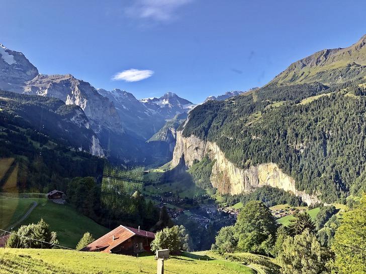 [융프라우여행] 벵엔 (Wengen)을 거쳐 클라이네 샤이덱 (Kleine Scheidegg)까지