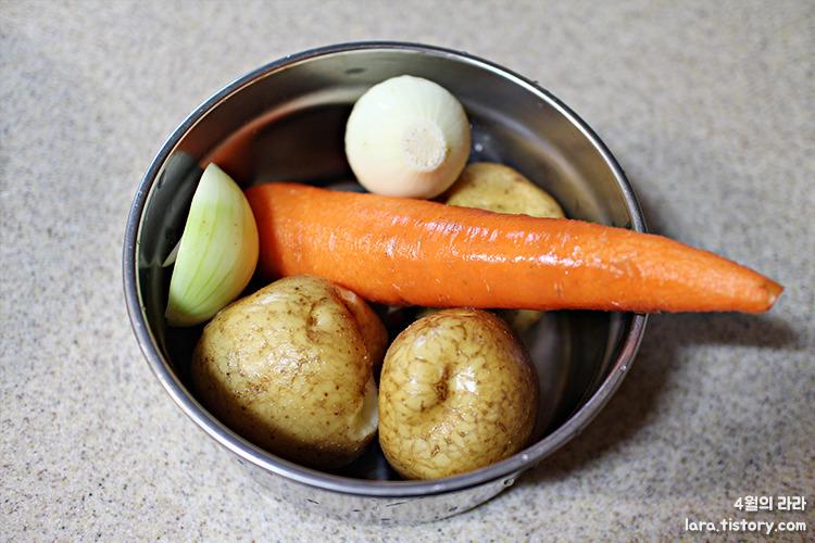 감자부침개_감자요리