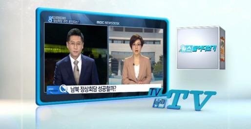 """""""역사적 남북정상회담 긍정적 여론 이끌어"""""""