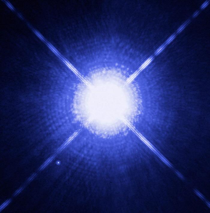 Measuring a White Dwarf Star