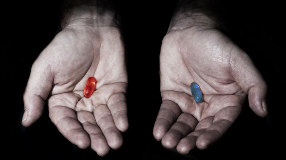 빨간 약과 파란 약