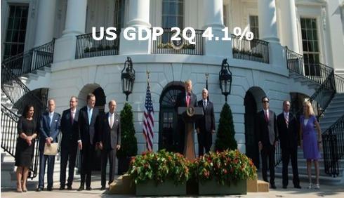 미국경제 4.1% 성장 '트럼프 호황' vs '반짝 효과'