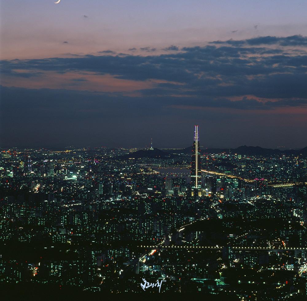서울야경(핫셀 장노출)