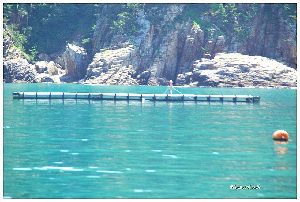 매물도 가는 바다 풍경