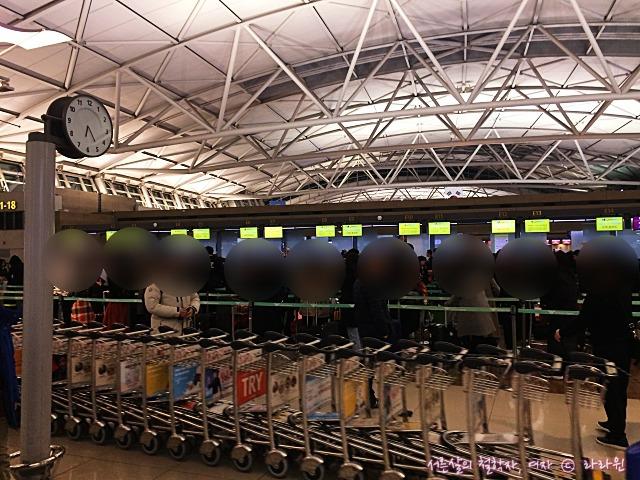 인천공항 새벽