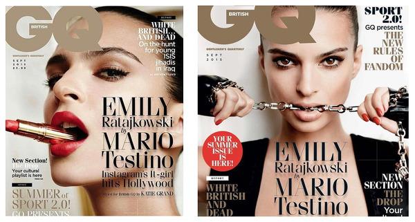 모델 에밀리 라타이코브스키 인스타그램 최다 조회수 영국 GQ 표지