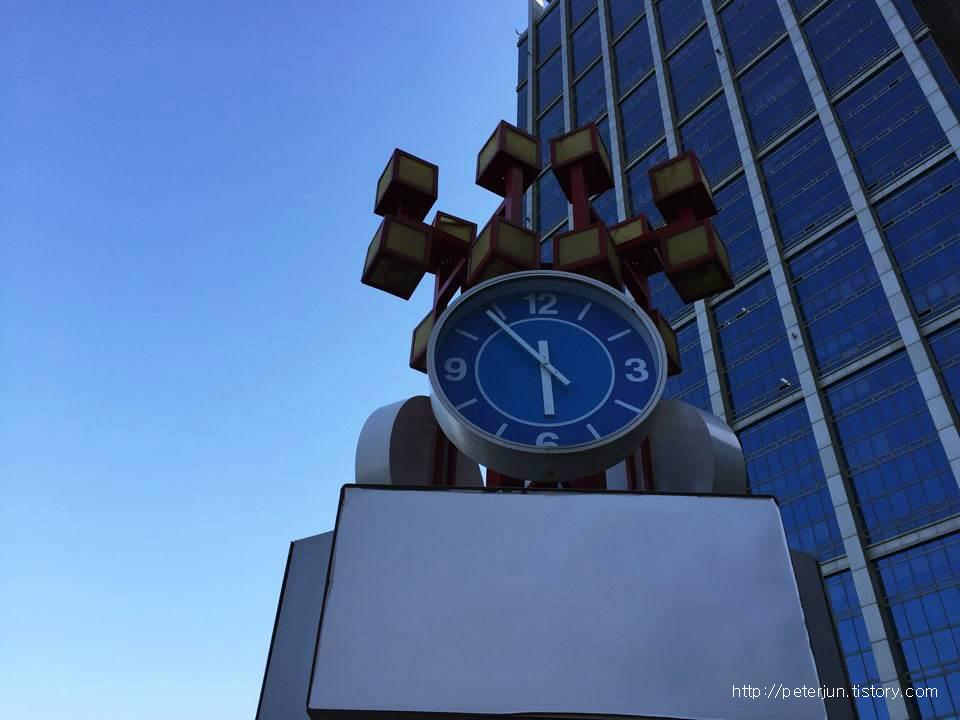 대형 시계탑